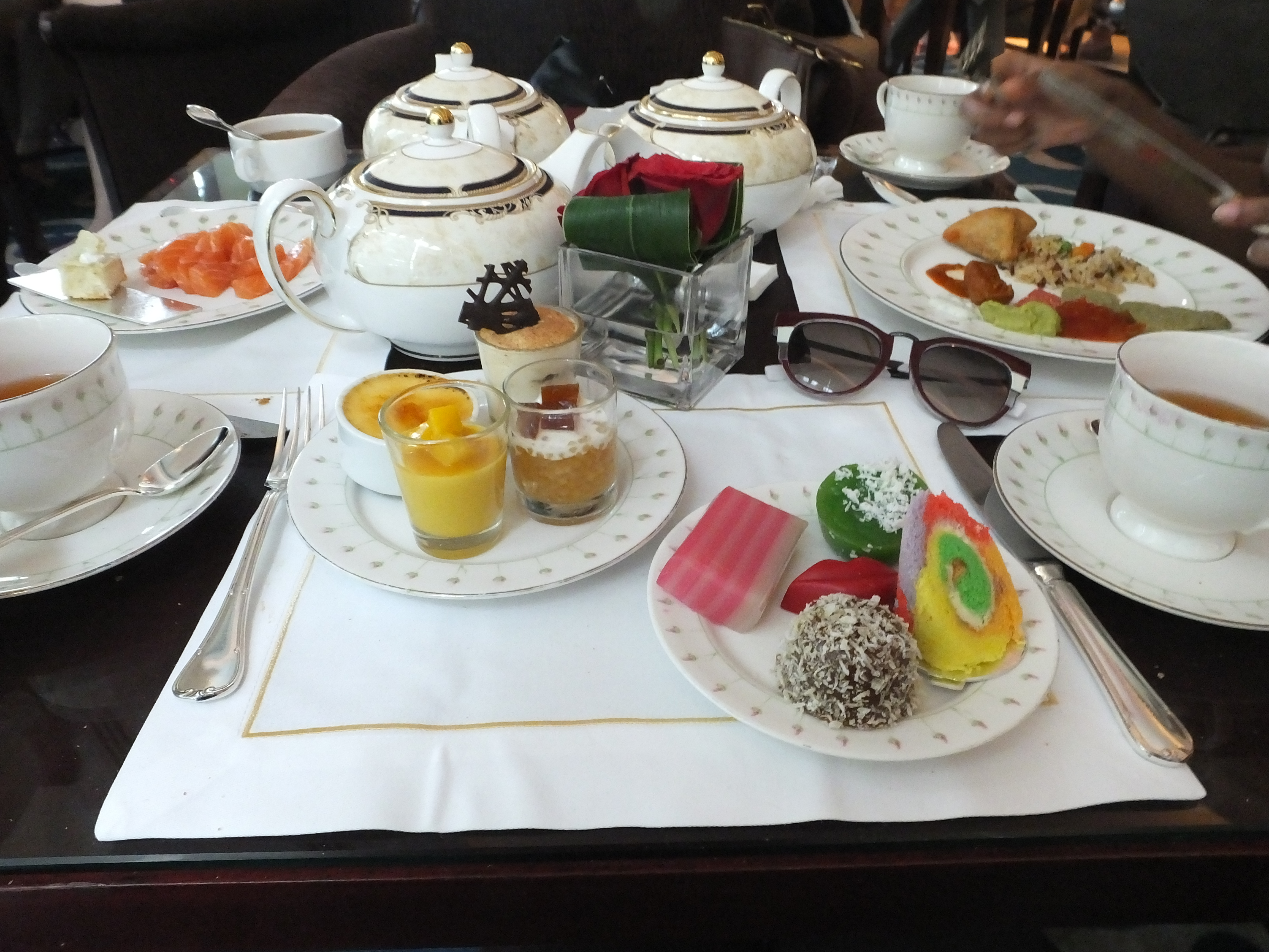 Day with Kiss: High Tea Buffet at The Rose Veranda | Shangri-La Hotel Singapore. Billykiss Azeez - Your Favourite Muse, lifestyle blogger