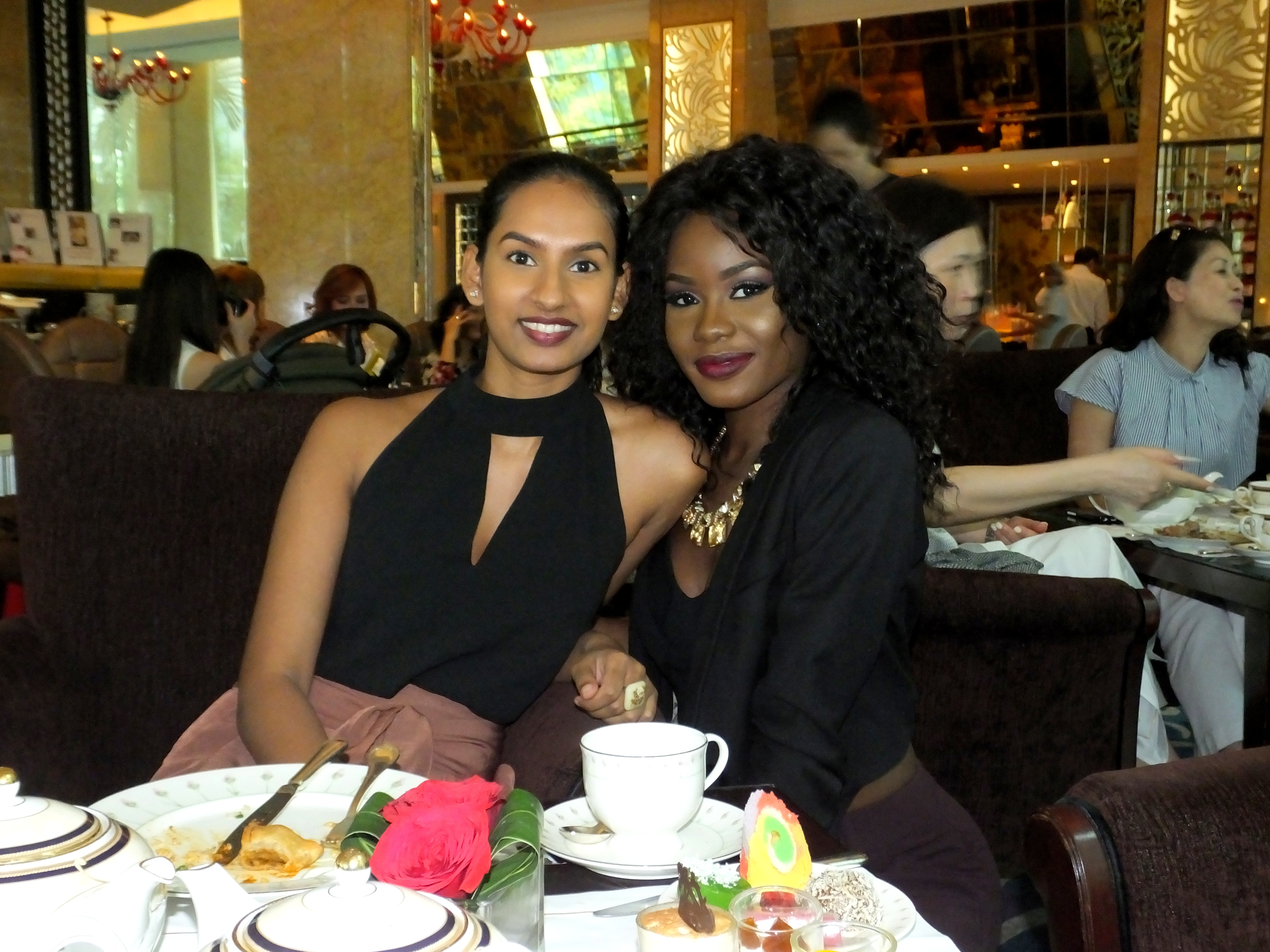 Day with Kiss: High Tea Buffet at The Rose Veranda   Shangri-La Hotel Singapore. Billykiss Azeez - Your Favourite Muse, lifestyle blogger