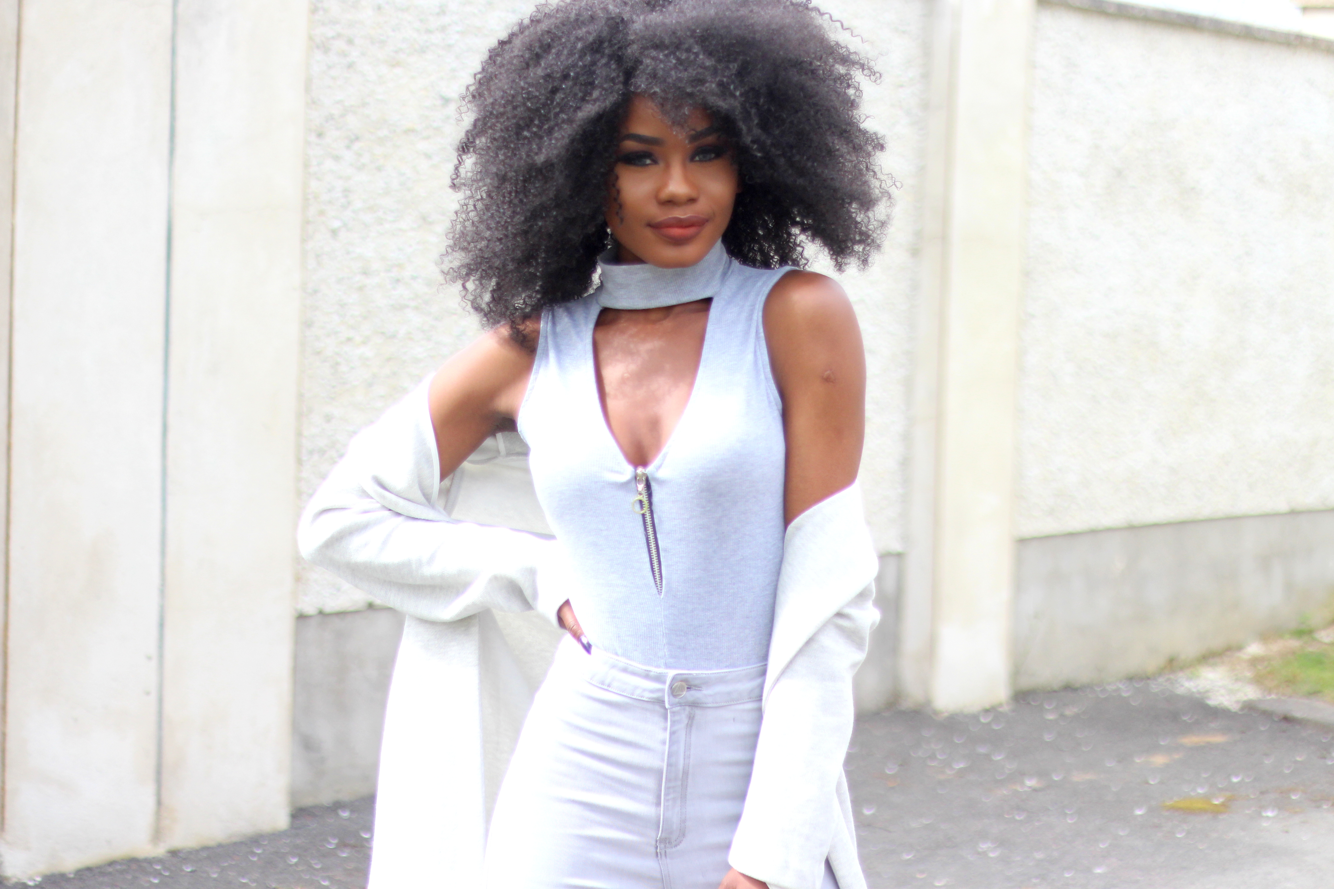 Billykiss Azeez. Your Favourite Muse. Fashion Irish Blogger. Classy, Business Wear. All Grey. Missguided. Forever 21. Simmi. Pretty Little Things. Jorie Hair. Afro Hair. African Style Blogger.