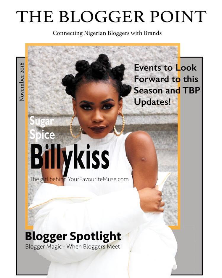 Cover of TBP November Online Magazine.
