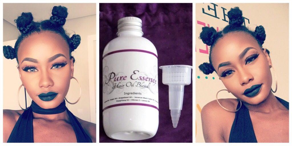 Pure Essence: Hair Oil Blend – [Hair Breakdown]