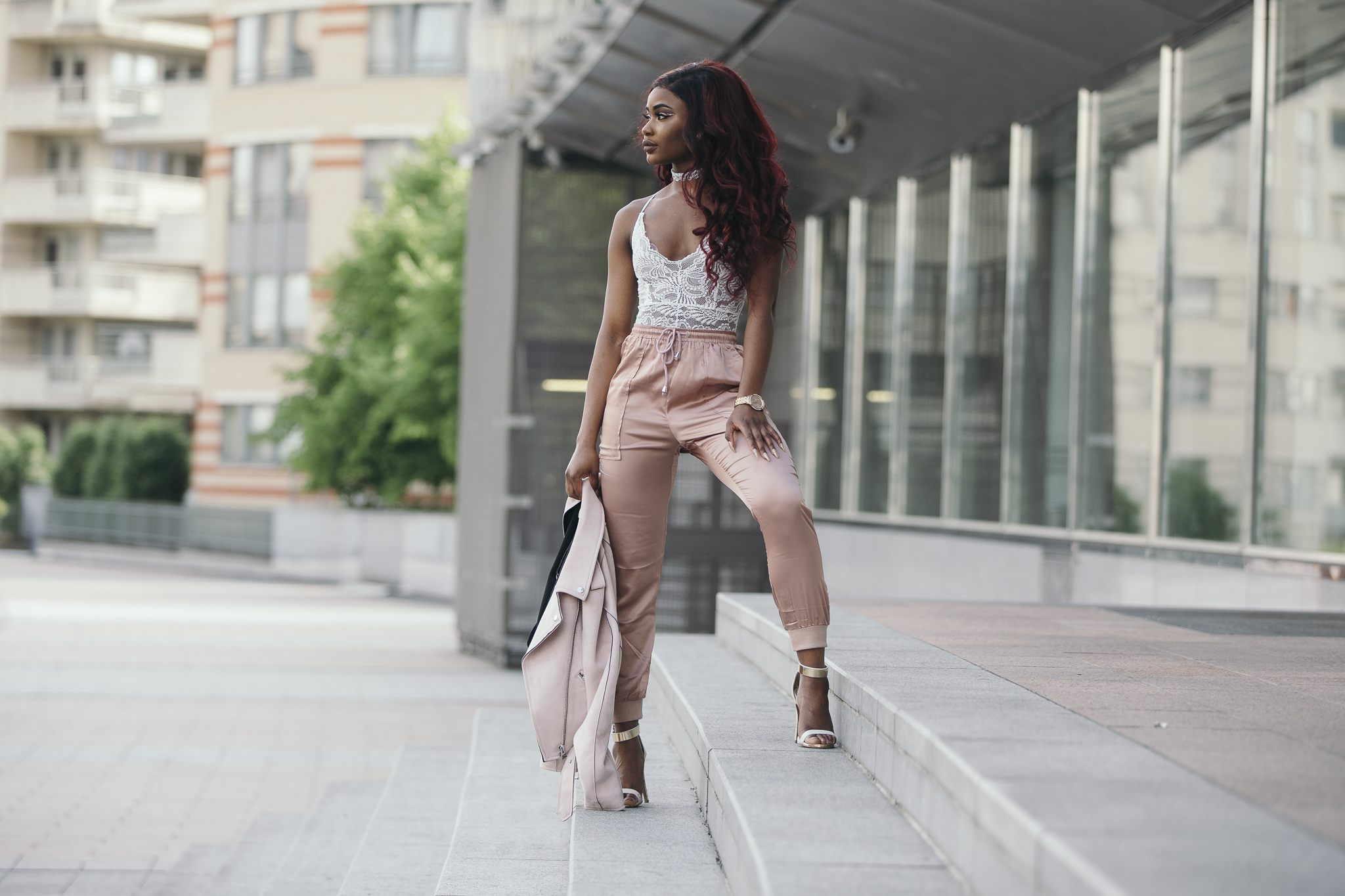 Billykiss Azeez. Your Favourite Muse. Fashion Irish Blogger. African Blogger. SS17. Aliexpress. Ego shoes. Pretty Little Things. Missguided. Red hair on African black women.