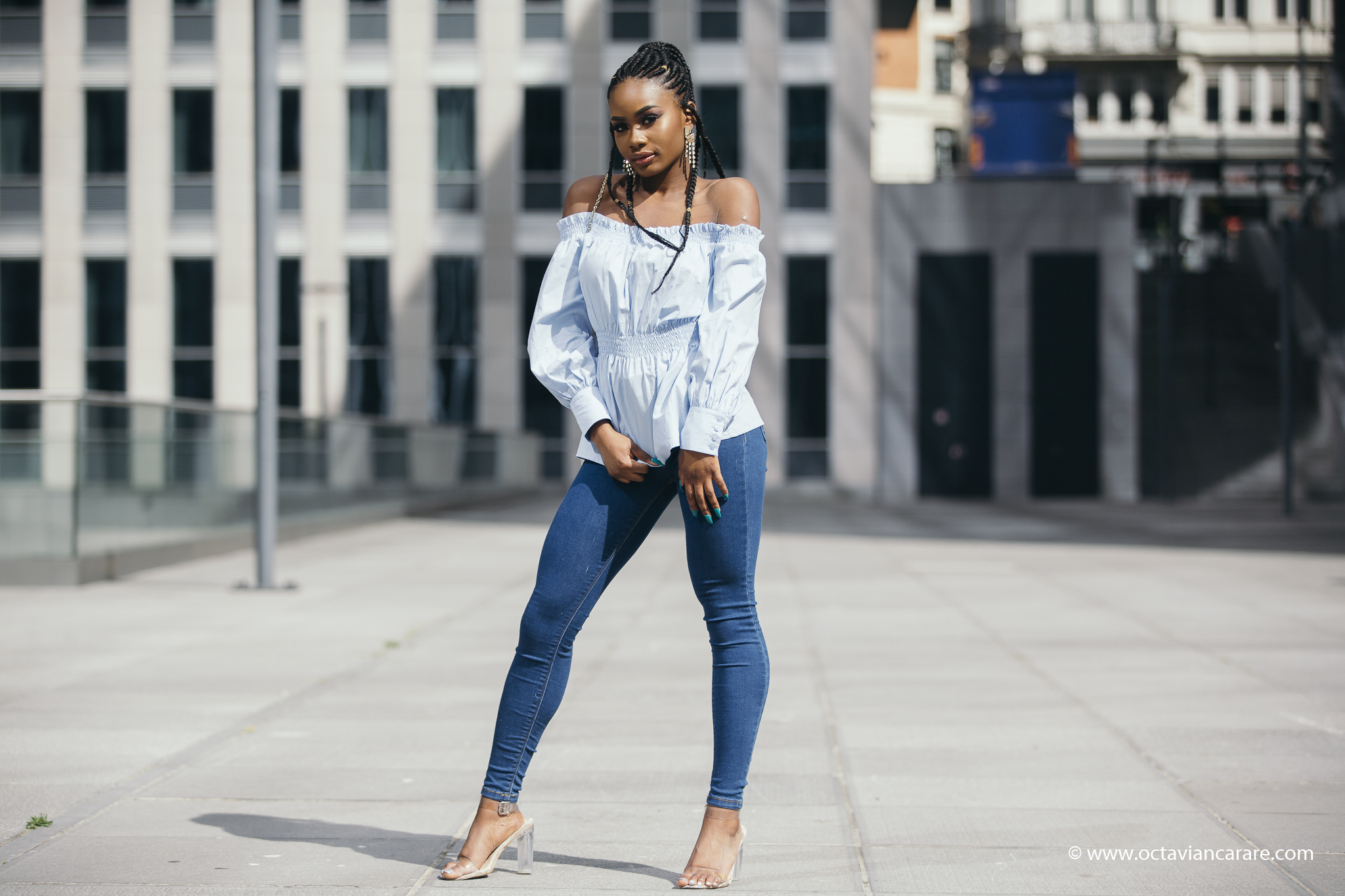 Billykiss Azeez. Your Favourite Muse. Fashion Irish Blogger. African Blogger. SS17. New Look. Bershka Jeans. Braids. EGO shoes. Casual Outfit.