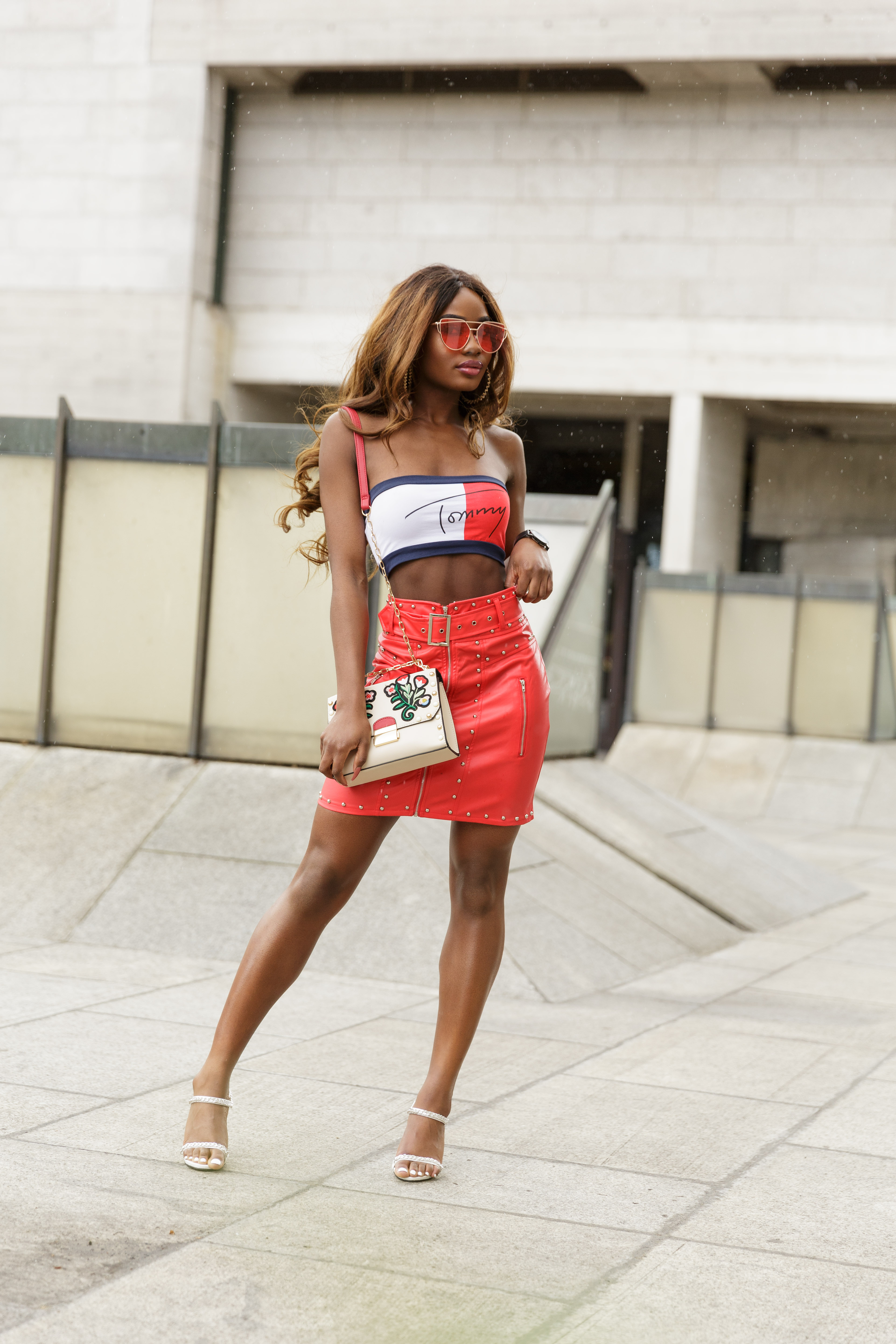 Billykiss Azeez. Your Favourite Muse. Fashion Irish Blogger. African Blogger. SS17. Pretty Little things. Tommy Hilfiger. Stradivarius. Quanticlo. Aliexpress. Girly Outfit.