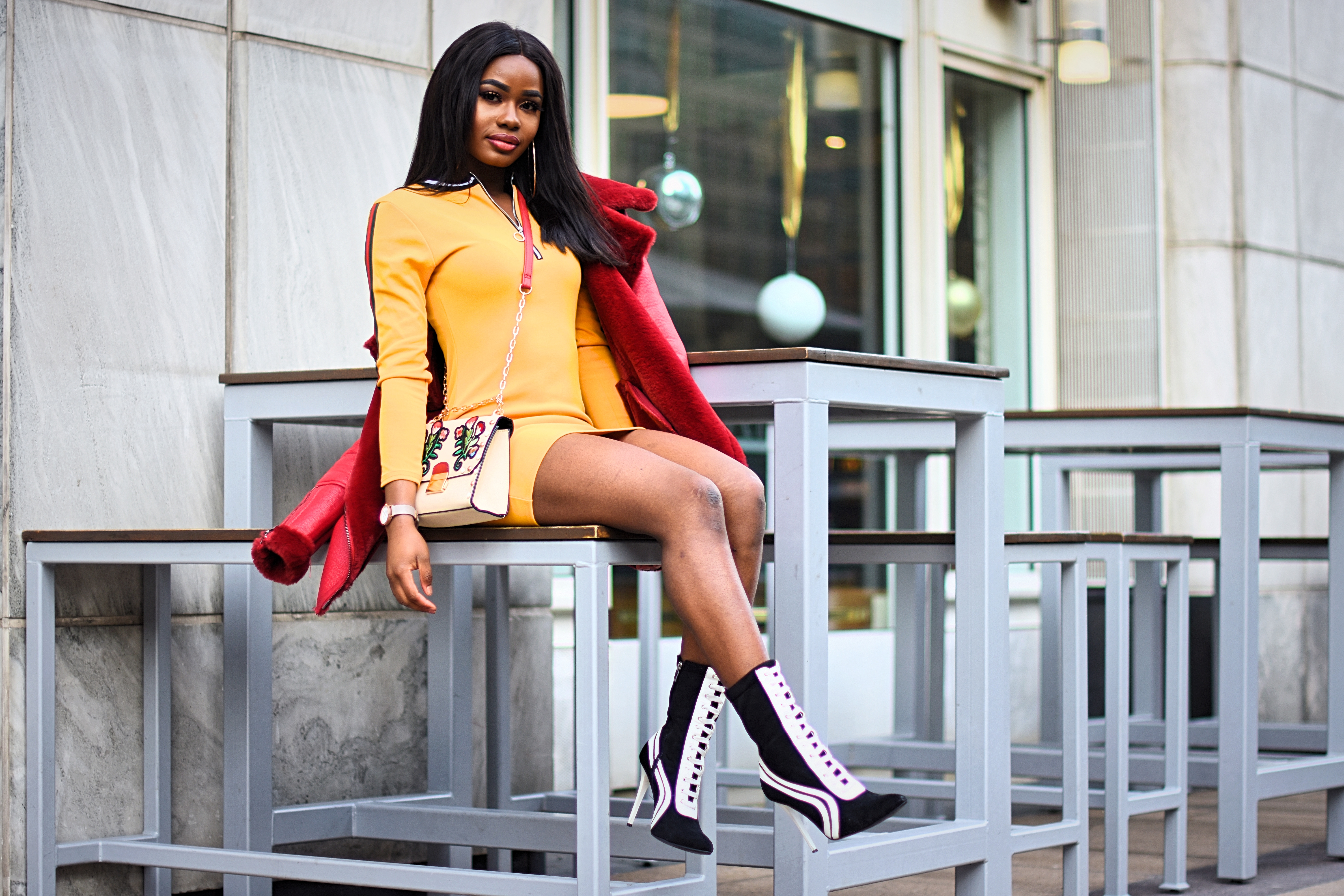 Billykiss Azeez. Your Favourite Muse. Fashion Irish Blogger. African Blogger. AW17. Cluses. Wearall. Simmi shoes.