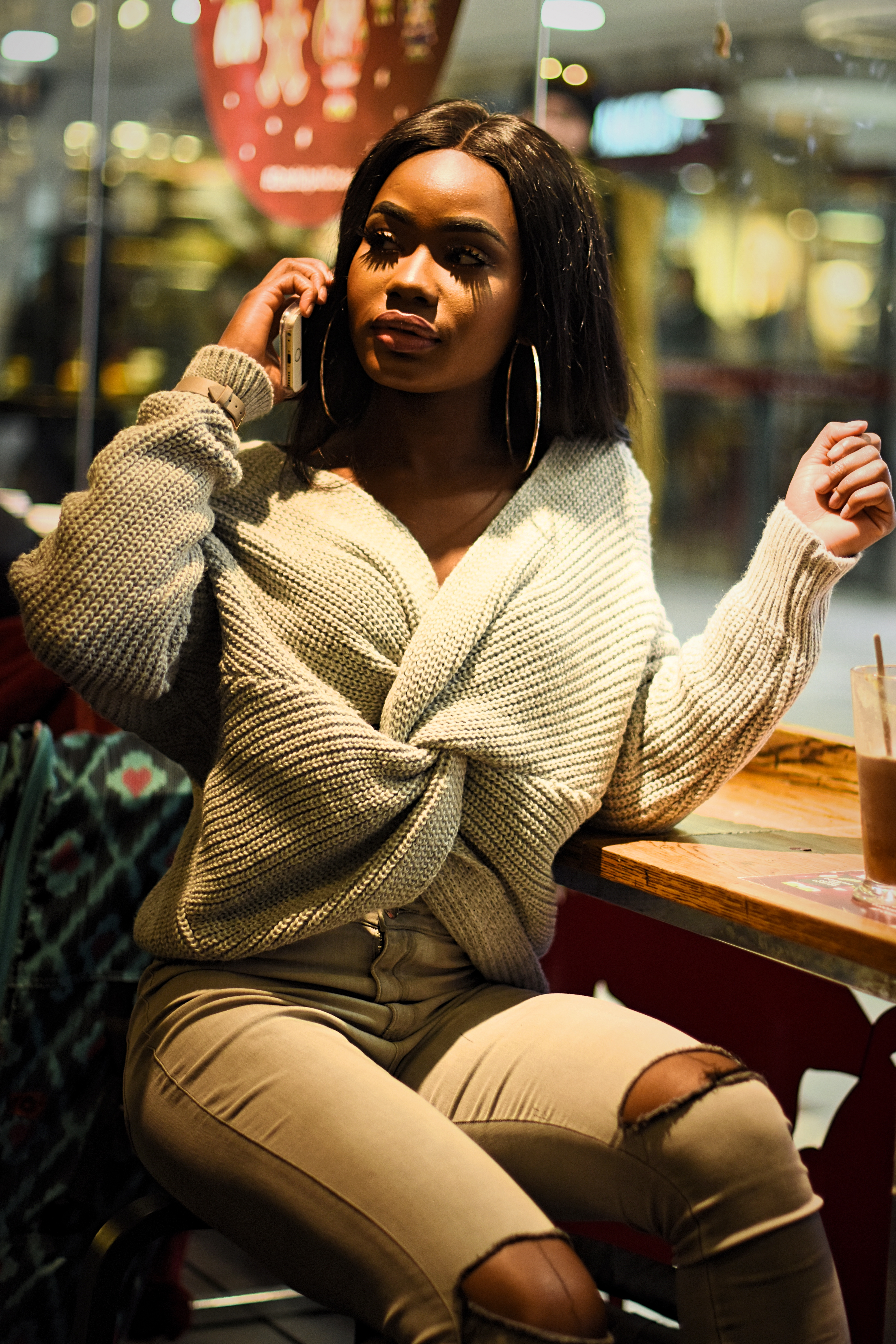 Billykiss Azeez. Your Favourite Muse. Fashion Irish Blogger. African Blogger. AW17. Cluses. Vivichi. Costa.